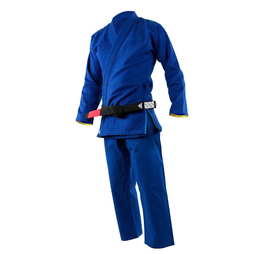 promo code 80672 64a8d Кимоно для джиу-джитсу Challenge 2.0 синее ADIDAS