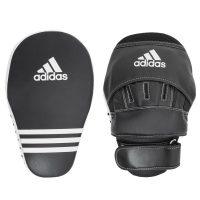 Лапы боксерские ADIDAS длинные черные к/з