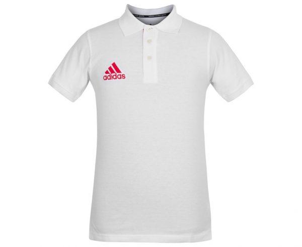 Рубашка-поло PIQUE POLO SHIRT с короткими рукавами Adidas