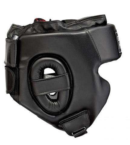 HGS-9409 Боксерский шлем SPARRING черный Green Hill