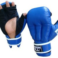 HHG-2095 Перчатки для рукопашного боя синие/красные Green Hill