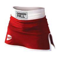 BSD-3801 Юбка для бокса DONNA красная Green Hill
