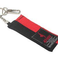 AK201632 Брелок для ключей Mini Belt Poom красно-черный KHAN
