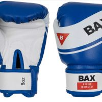 PRB10 Перчатки боксерские синие/красные BAX