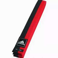 ADITCB02/ADIB220 Пояс тхэквондо двухцветный Adidas