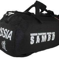 KBP17500 Сумка-рюкзак трансформер Самбо черная Khan