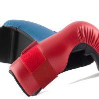 BB12010-1 Защита кисти для тхэквондо ITF New красная/синяя KHAN
