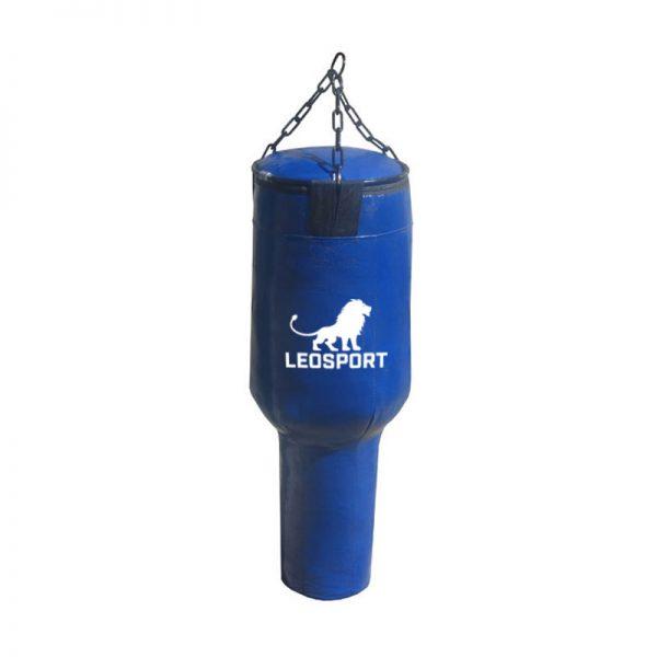 Мешок боксерский «Гильза» тент, наполнитель-резиновая крошка Леоспорт