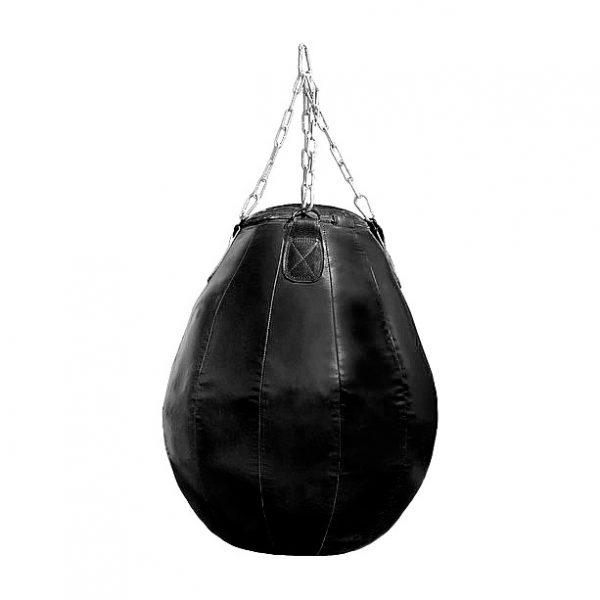 Груша боксерская Elit «Шар» натуральная кожа Леоспорт