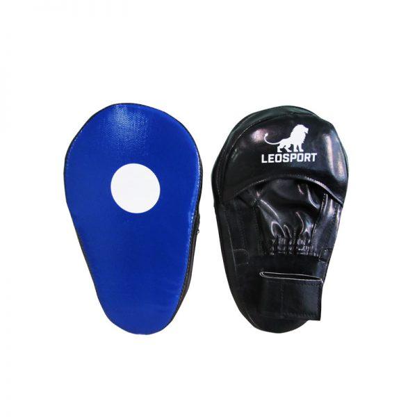 Лапы боксерские пара натуральная кожа/кожзаменитель Леоспорт