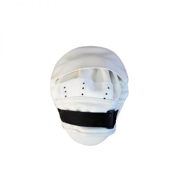 Лапа для каратэ загнутая натуральная кожа/кожзаменитель Леоспорт