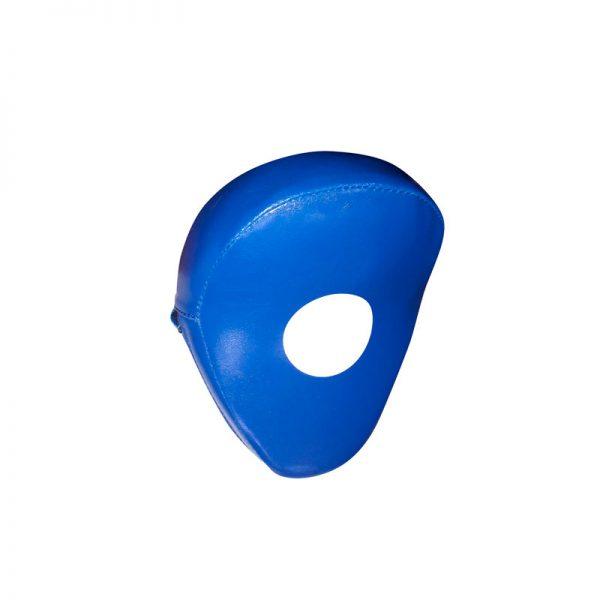 Лапа боксерская загнутая натуральная кожа/кожзаменитель Леоспорт