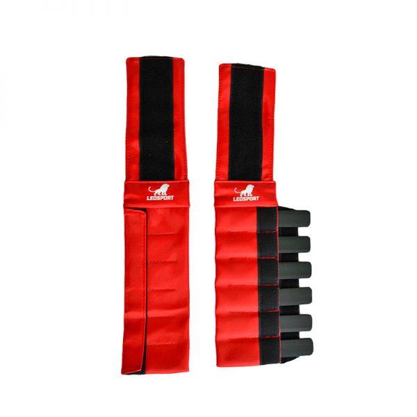Утяжелители металлические для рук и ног кожзаменитель пара Леоспорт