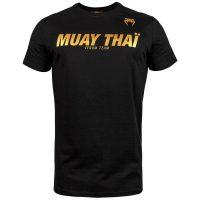 Футболка Venum Sport Classic Muay Thai Black/Gold