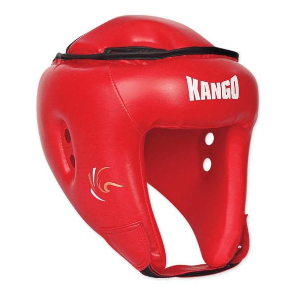 Шлем боксерский Kango KHG-11 Red PU