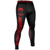Компрессионные штаны Venum Logos Black/Red