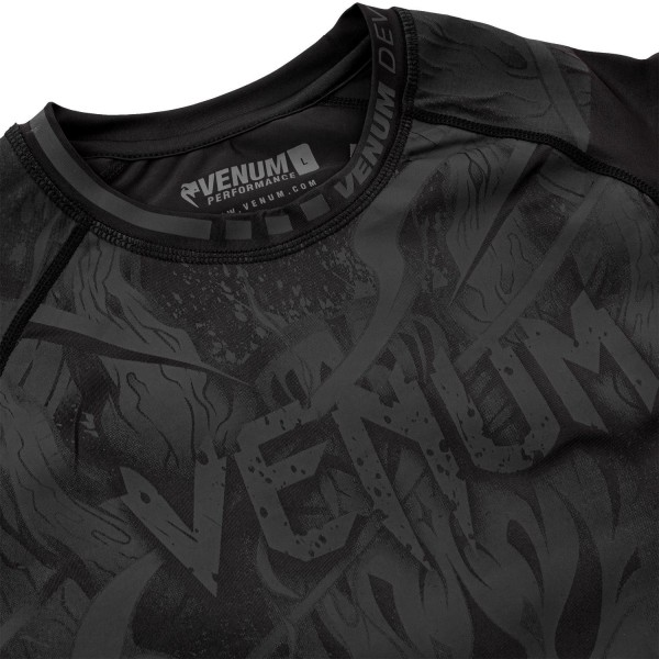 Рашгард Venum Devil Black/Black