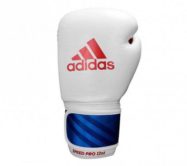 Перчатки боксерские Adidas Speed Pro натуральная кожа