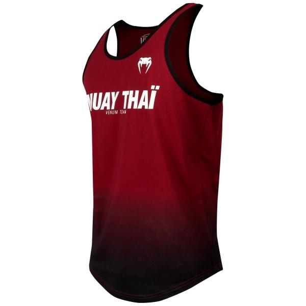 Майка Venum Sport Classic Muay Thai Red Wine/Black