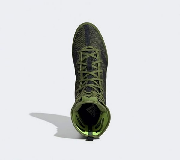 Боксерки Adidas Box Hog 3 зелено-черные