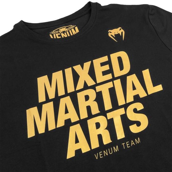 Футболка Venum Sport Classic MMA Black/Gold