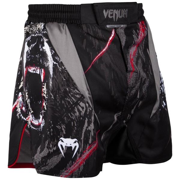 Шорты ММА Venum Grizzli Black/White