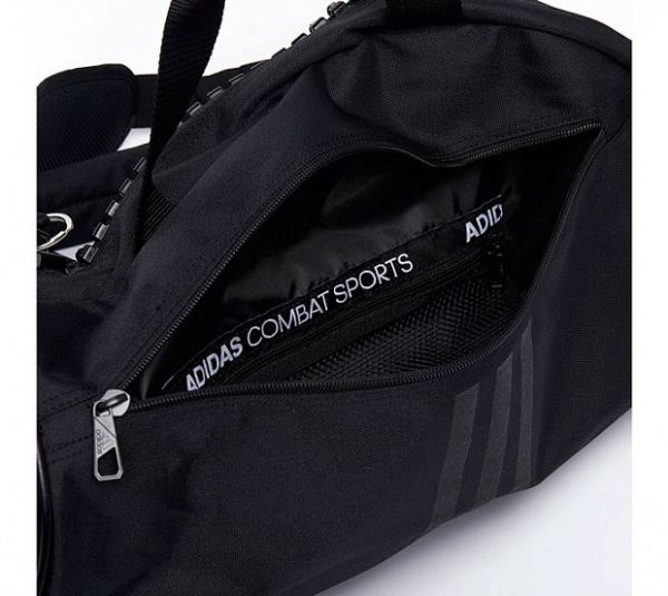 Сумка-рюкзак Adidas Training 2 in 1 Bag Judo черно-золотая