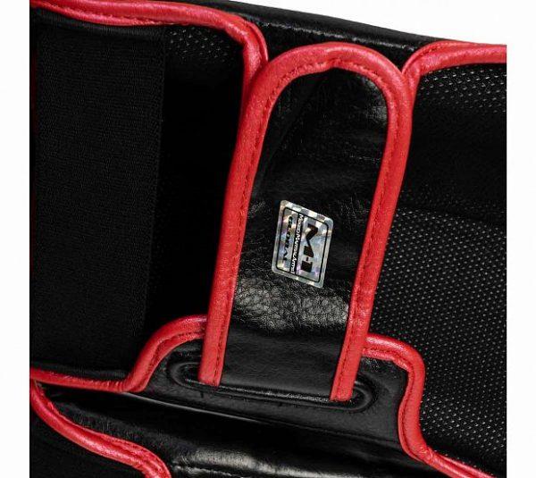 Защита голени и стопы Clinch Shin Instep Guard M1 черно-красно-серебристые