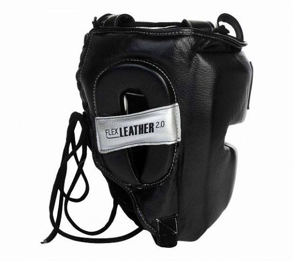 Шлем боксерский Clinch Punch 2.0 черно-серебристый