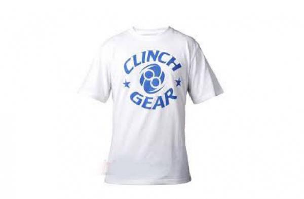 Футболка Clinch Gear Icon Tee White/Blue