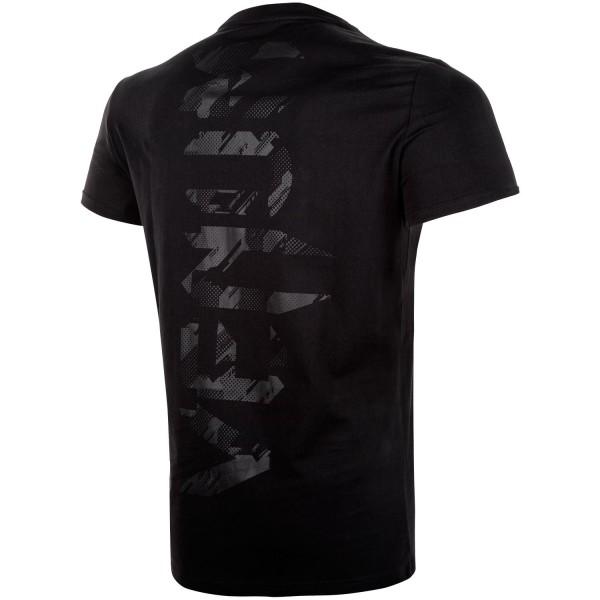 Футболка Venum Tecmo Giant Black/Black