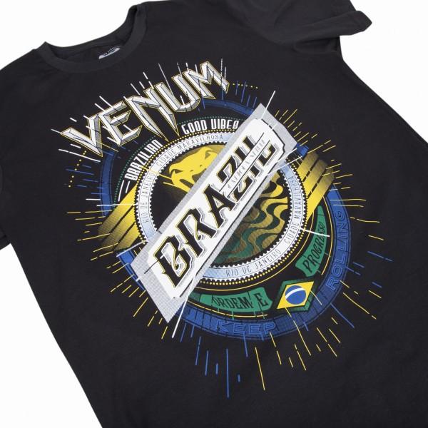 Футболка Venum Keep Rolling Black хлопок