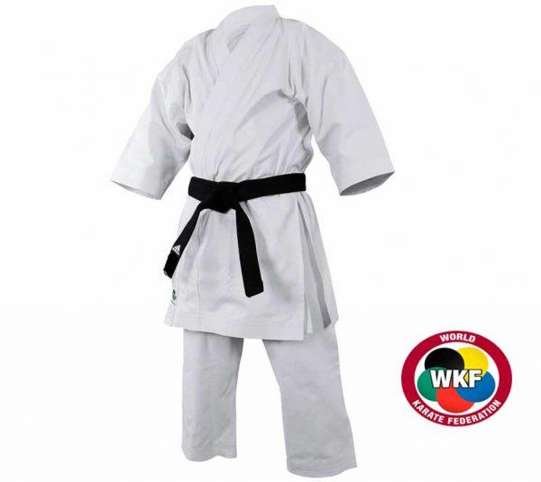 Кимоно для карате ката Adidas Yawara European Cut WKF белое