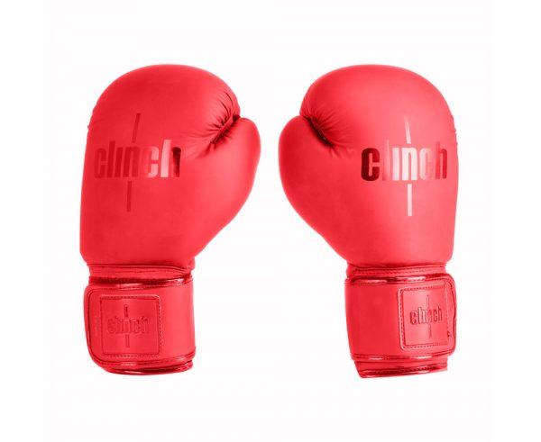 Перчатки боксерские Clinch Mist красные/синие/черные