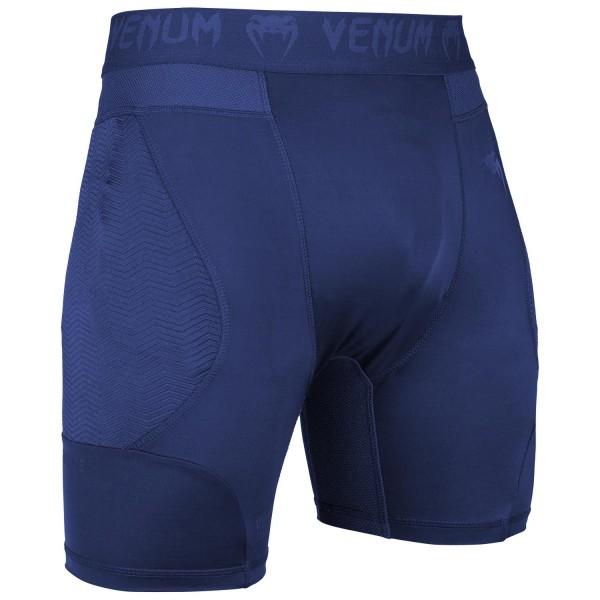 Компрессионные шорты Venum G-fit Navy Blue
