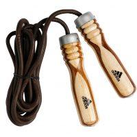 Скакалка Adidas Wood Jump Rope Pro Leather