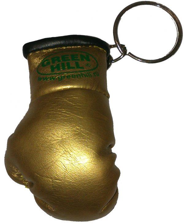 Брелок сувенирный с кольцом Green Hill красный/синий/золотой