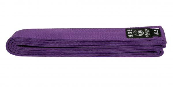 Пояс для единоборств TOKAIDO фиолетовый