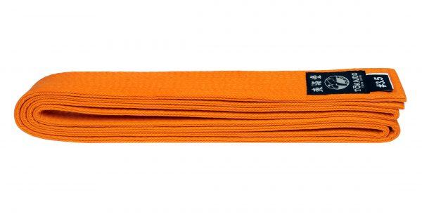 Пояс для единоборств TOKAIDO оранжевый