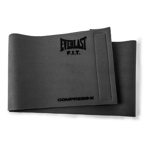 Пояс компрессионный Slimmer Belt Everlast серый