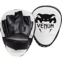 Лапы Venum Light Black/White