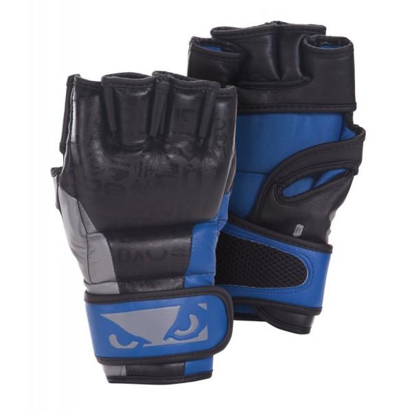 Перчатки ММА Bad Boy Legacy MMA Gloves - Black/Blue
