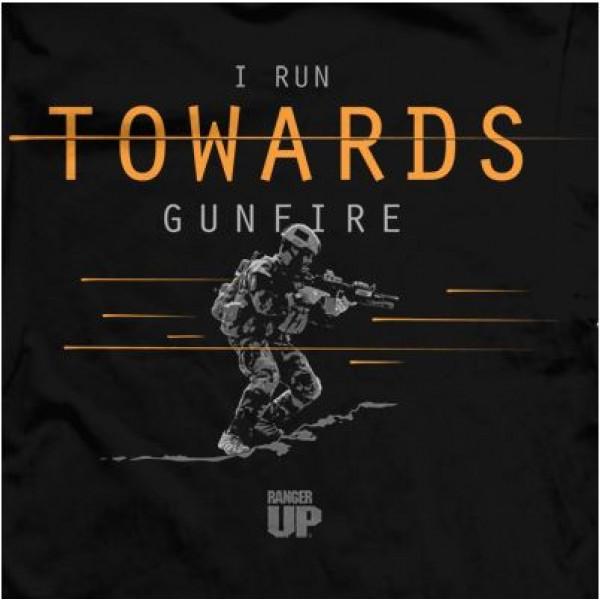 Футболка Ranger Up I Run Towards Gunfire
