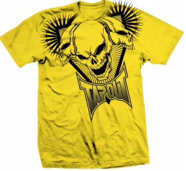 10765 Футболка Tapout Better Than One T-Shirt Yellow