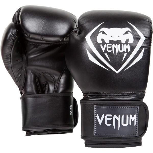 120531 Перчатки боксерские Venum Contender Black