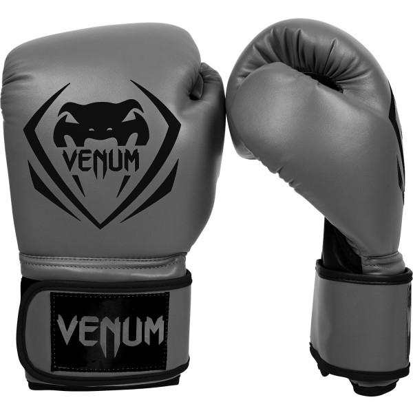 12054 Перчатки боксерские Venum Contender Grey