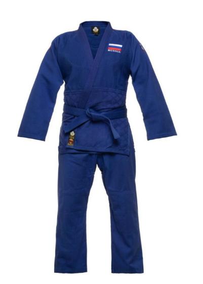 Кимоно для дзюдо Master Firuz синее