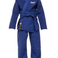 Кимоно для дзюдо Стандарт Firuz синее