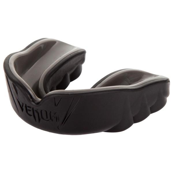 00485 Капа боксерская Venum Challenger Black/Black