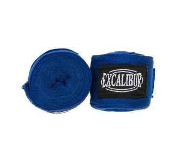 00565 Бинты боксерские Excalibur Синие 3,5 м